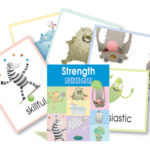Strength Card Flyers